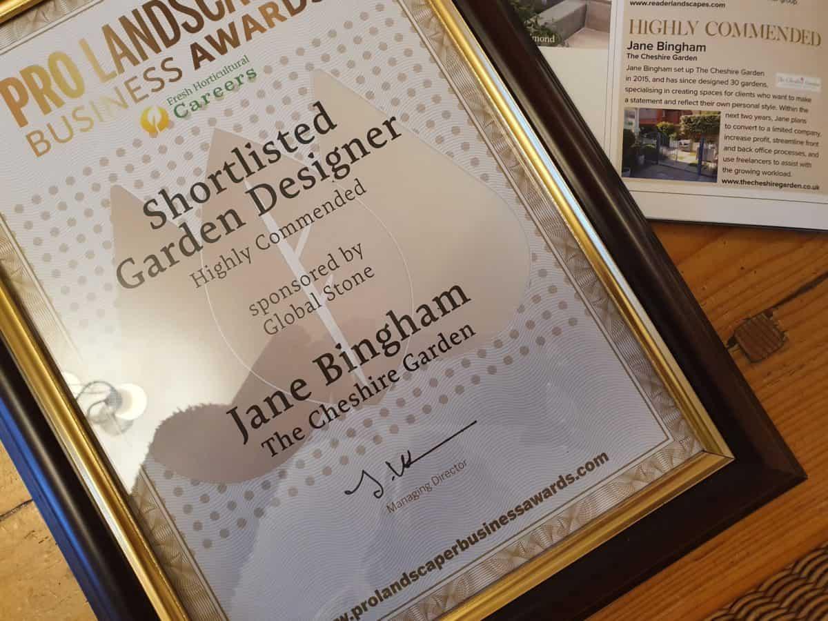 Pro Landscaper Award