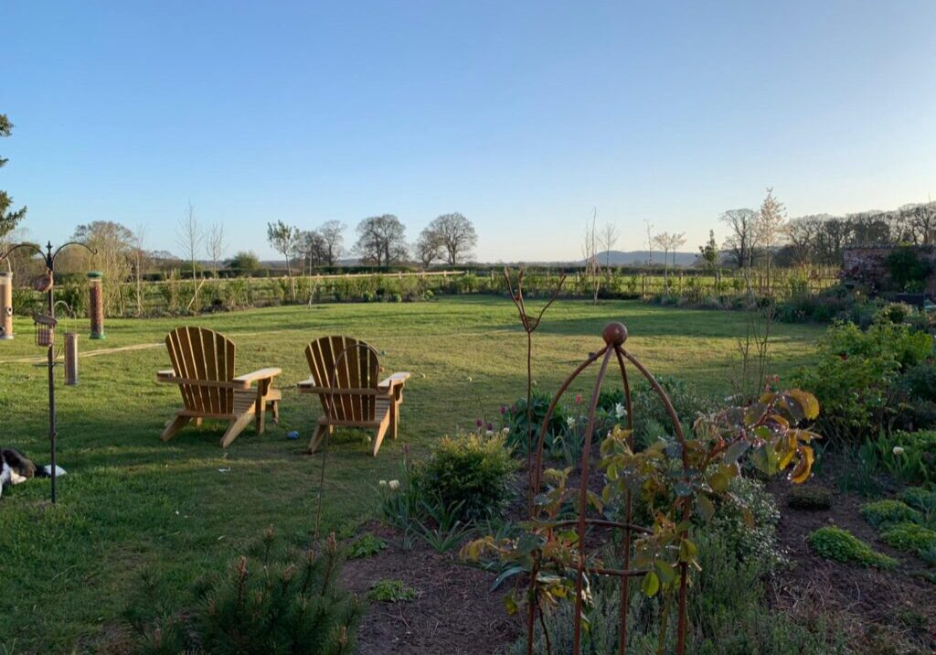 The Large Victorian Garden with Bunbury View